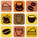 Vector Seamless Pattern with Tea and Coffee Cups  - GraphicRiver Item for Sale