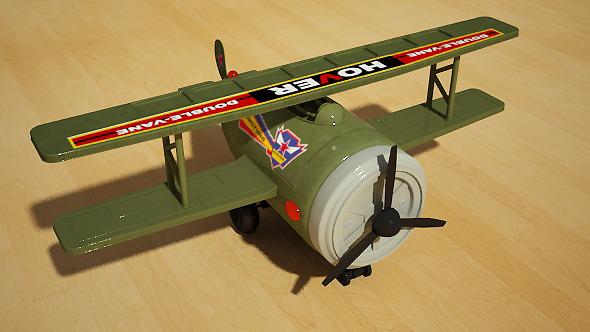 3DOcean Toy Plane 4998507