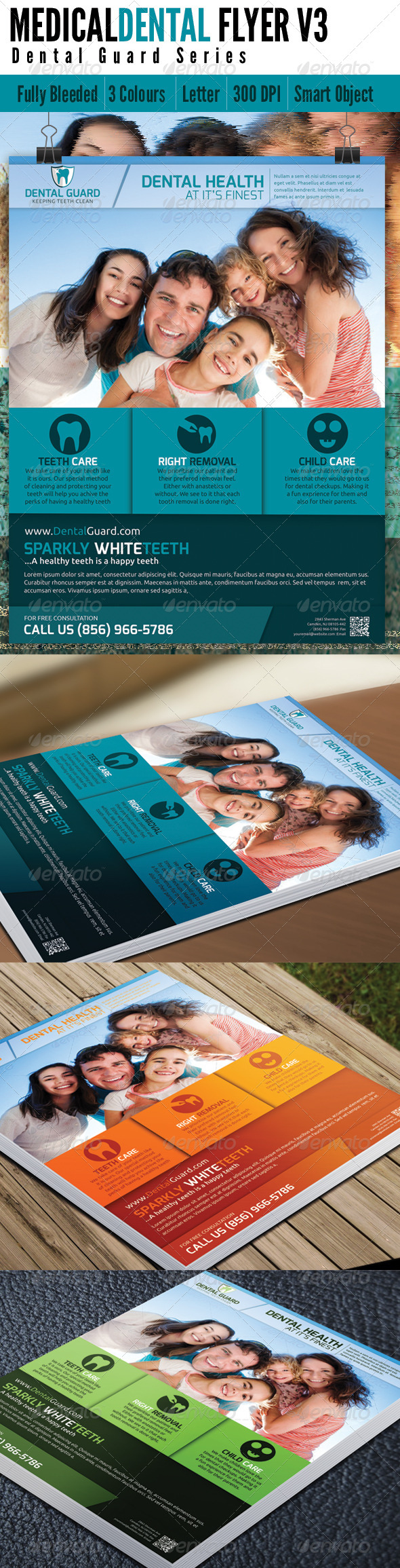 Medical Dental Flyer v3 - Corporate Flyers