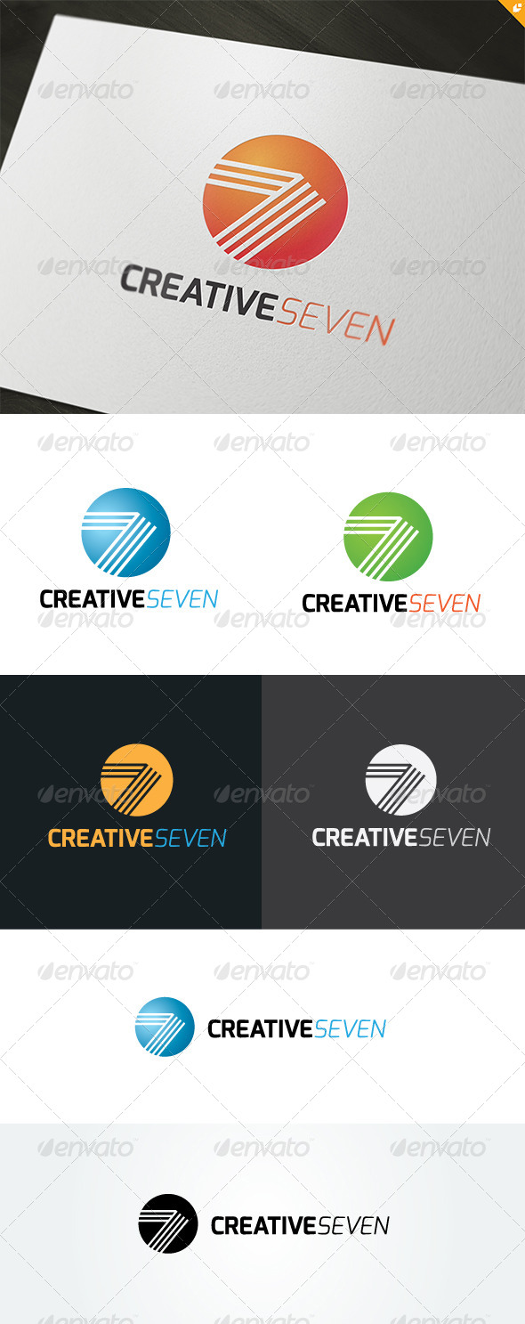 GraphicRiver Creative Seven Logo 5001037
