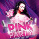 Pink Party/Tuesdays Flyer Template - GraphicRiver Item for Sale