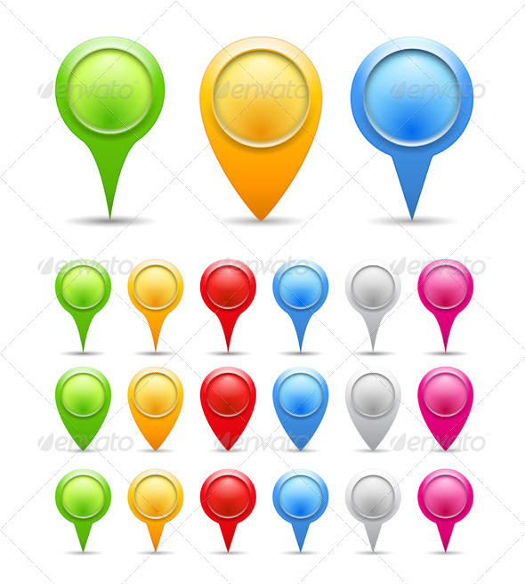 GraphicRiver Map Markers 5002414