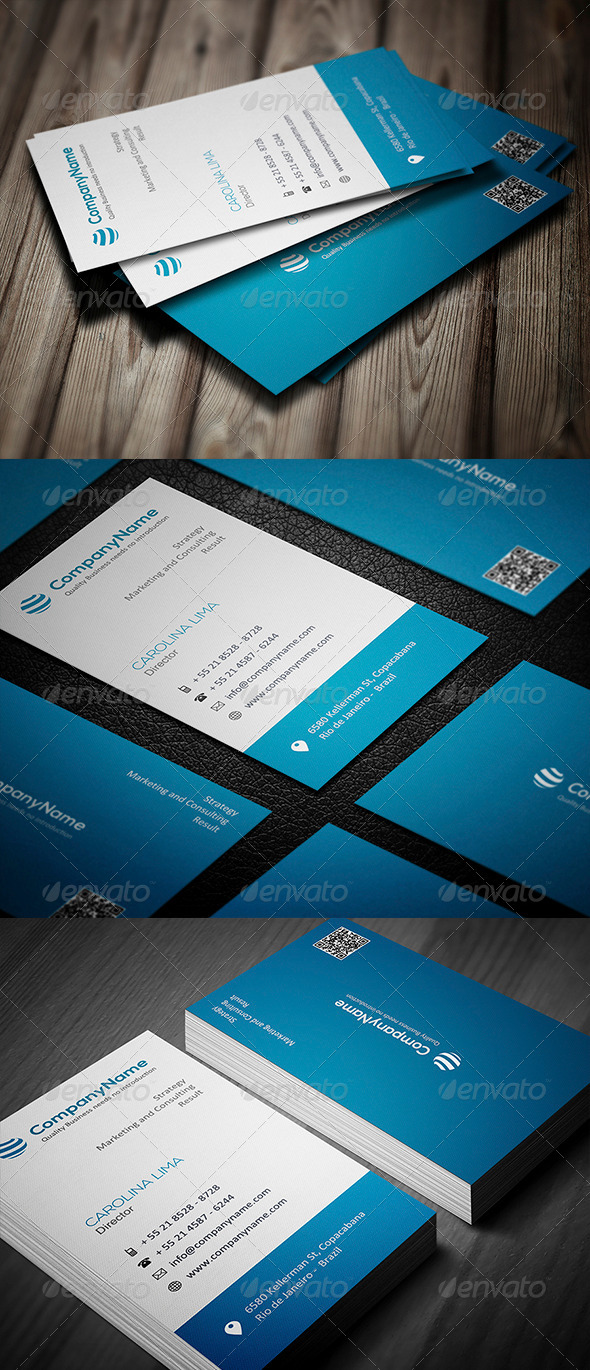 GraphicRiver Corporate Business Card 006 5002593