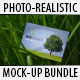 8 Photo-realistic Nature Business Card Mock-up - GraphicRiver Item for Sale