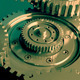 Mechanism of 3D Gears in Motion - VideoHive Item for Sale