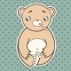Sick Bear - GraphicRiver Item for Sale