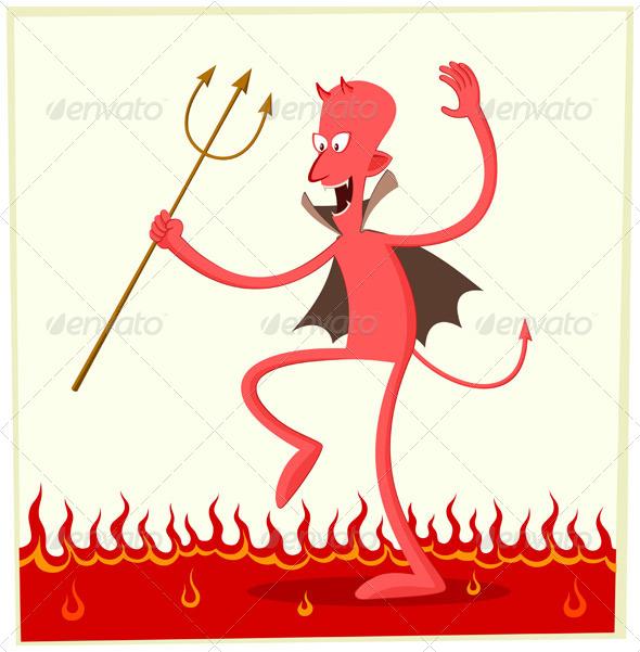 GraphicRiver Dancing Satan 5006098
