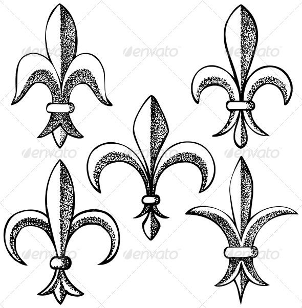 GraphicRiver Fleur De Lys 5008137