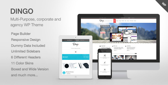 ThemeForest Dingo Retina Responsive Multi-Purpose Theme 4928184