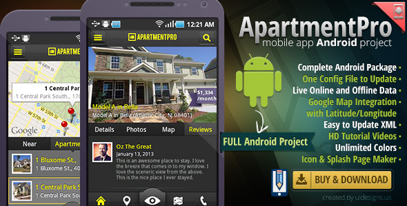 CodeCanyon Apartment Real Estate Android Full App Source Code 5010512