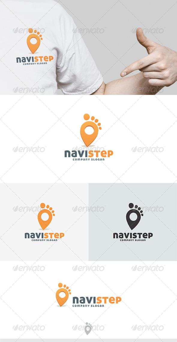 GraphicRiver Navi Step Logo 5011085