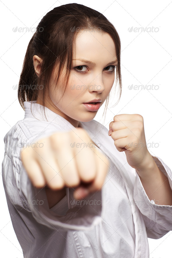 Stock Photo - PhotoDune karate girl 517294