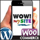 WOW! mySite WordPress Mobile Theme - ThemeForest Item for Sale