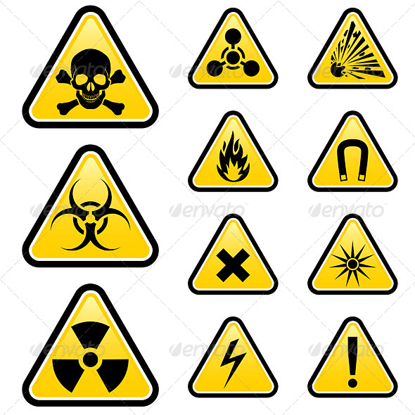 GraphicRiver Signs of Danger 5012646