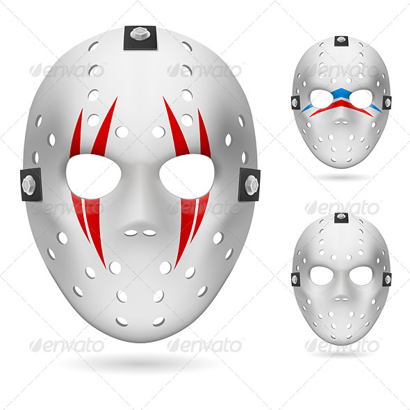 GraphicRiver Hockey mask 5013014
