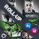 Fitness Billboard & Roll-Up Template - GraphicRiver Item for Sale
