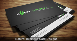 Natural Business Card Design
