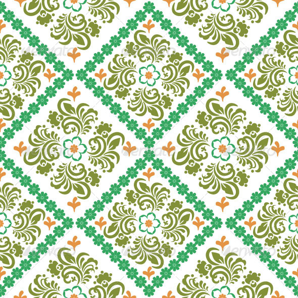 GraphicRiver Seamless Classic Pattern 5016883
