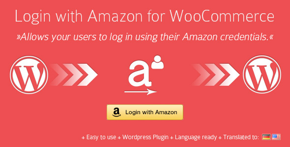 CodeCanyon Login With Amazon for WooCommerce WordPress Plugin 5016389