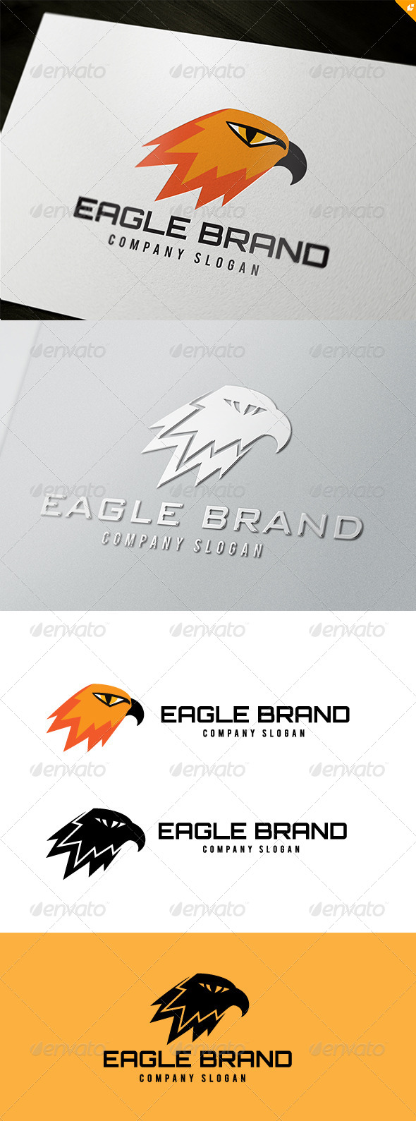 GraphicRiver Eagle Brand Logo 5018140