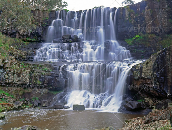Ebor falls  - Stock Photo - Images