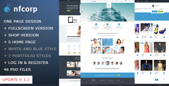 Nfcorp - Corporate PSD Templates