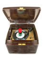 Antique Bakelite Tube Record Player 02 - PhotoDune Item for Sale