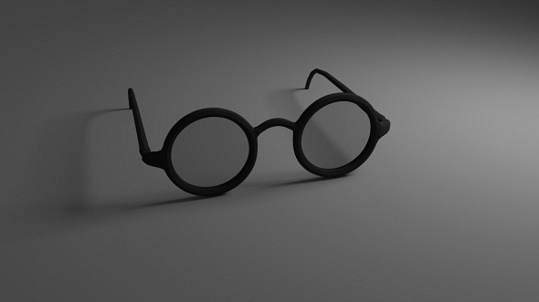 3DOcean Eye Glasses Version 2 Low-Poly 5021358