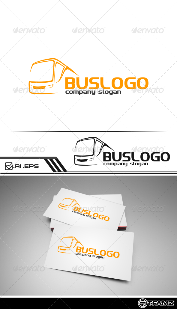 GraphicRiver Bus Logo Templates 5021390