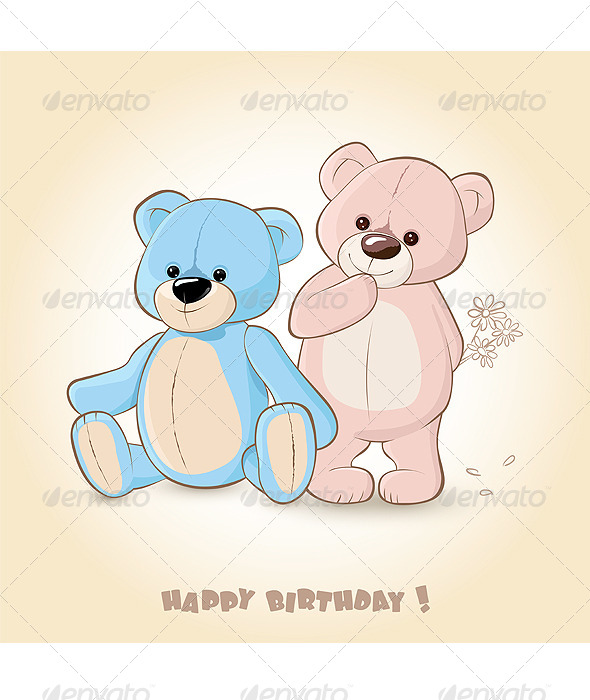 GraphicRiver Teddy Bears 5007660