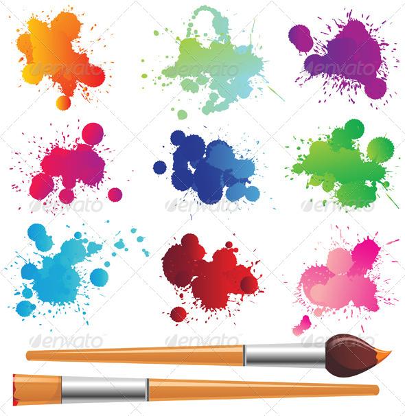 GraphicRiver Paint Splashes 5024382