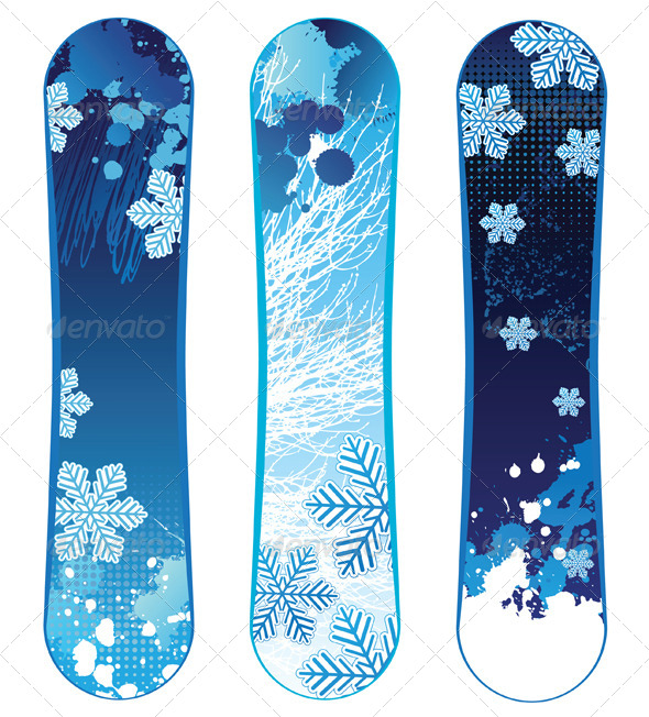 GraphicRiver Snowboards 5024474