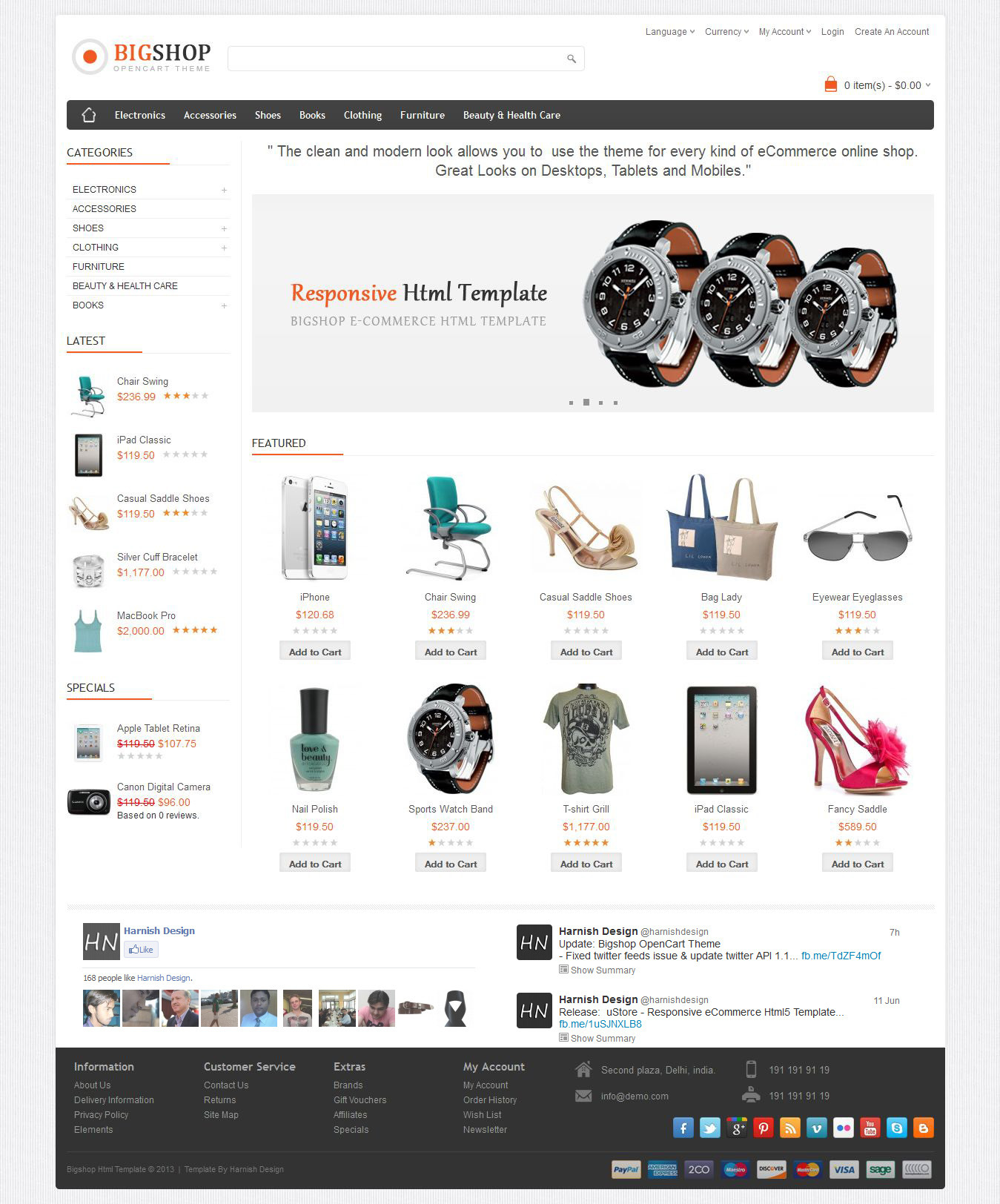 Bigshop - Multi-Purpose Responsive Html Template