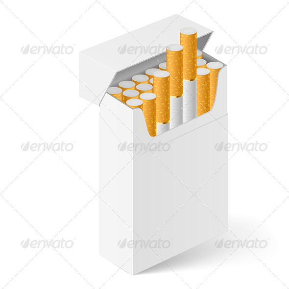 GraphicRiver White Pack of Cigarettes 5026968