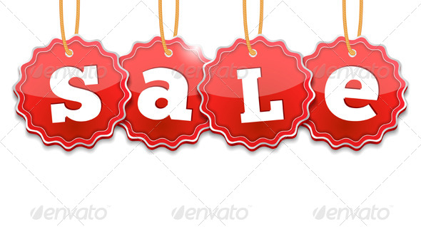 GraphicRiver Sale Tags 5027541
