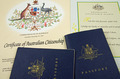 passport and citizenship certificate and pledge - PhotoDune Item for Sale