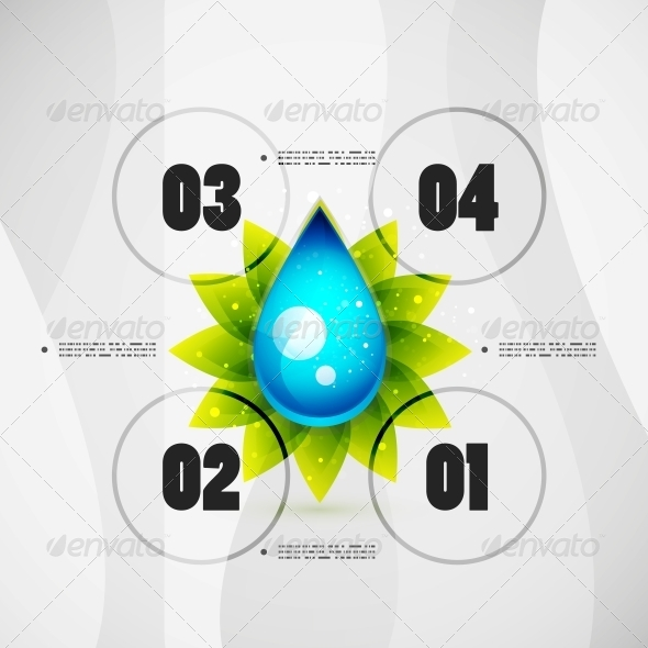 GraphicRiver Option Banner Modern Infographic 5031475