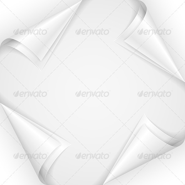 GraphicRiver White Paper Corners 5032712