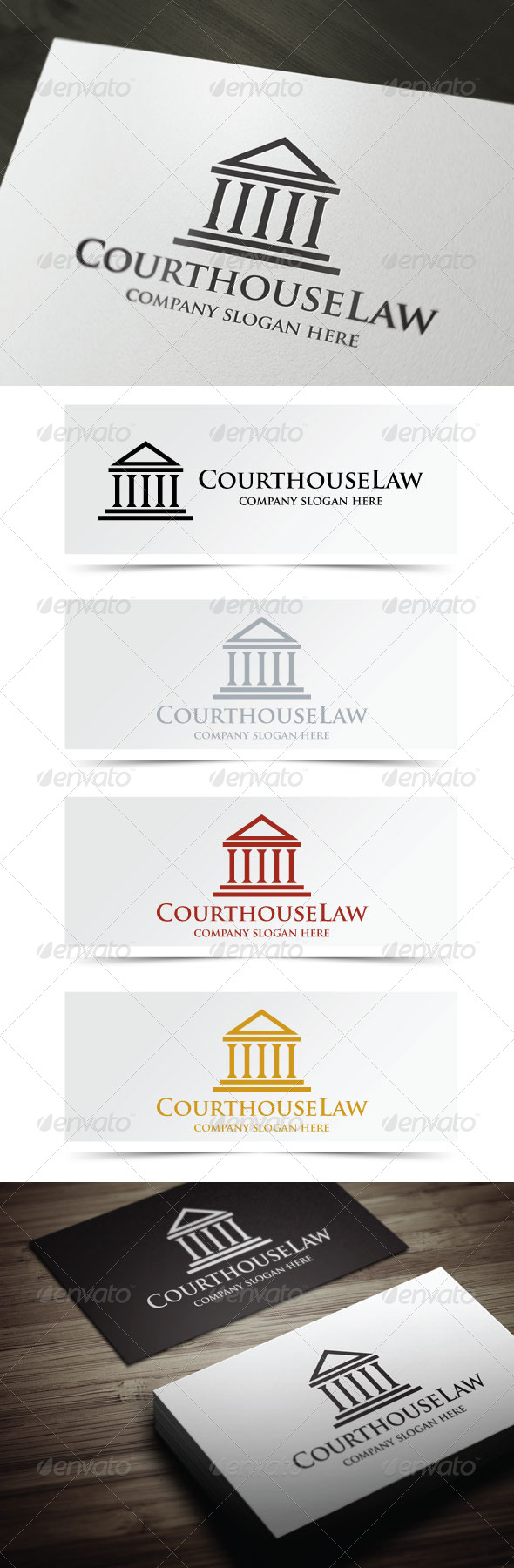 GraphicRiver Courthouse Law 5032781
