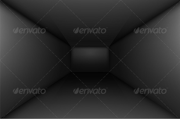 GraphicRiver Black Empty Room 5033693