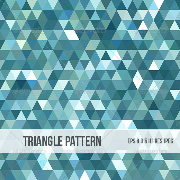 GraphicRiver Abstract Triangle Background Pattern 5034218