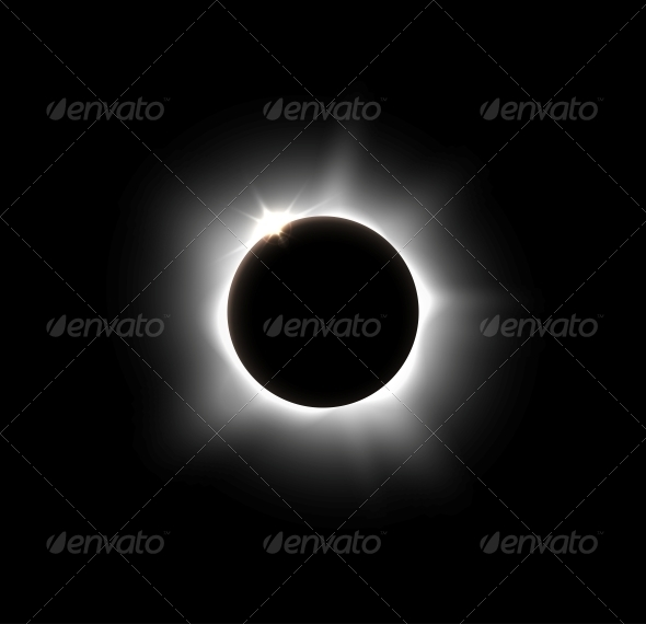GraphicRiver Solar Eclipse 5036645