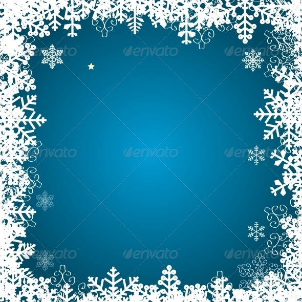 GraphicRiver Abstract Christmas and New Year Background 5037380