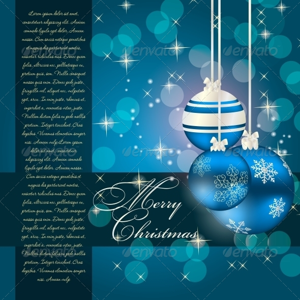 GraphicRiver Abstract Christmas and New Year Background 5039208