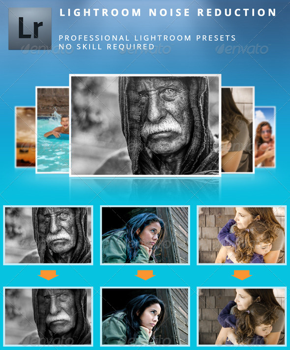 GraphicRiver Lightroom Noise Reduction Presets 5039353