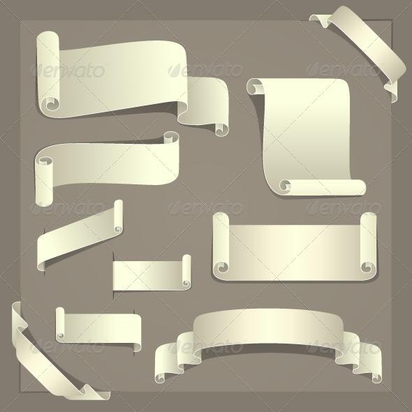 GraphicRiver Paper Design Elements 5039536