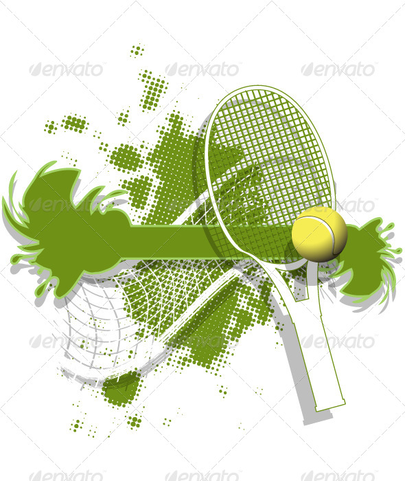 GraphicRiver Tennis Background 5039704