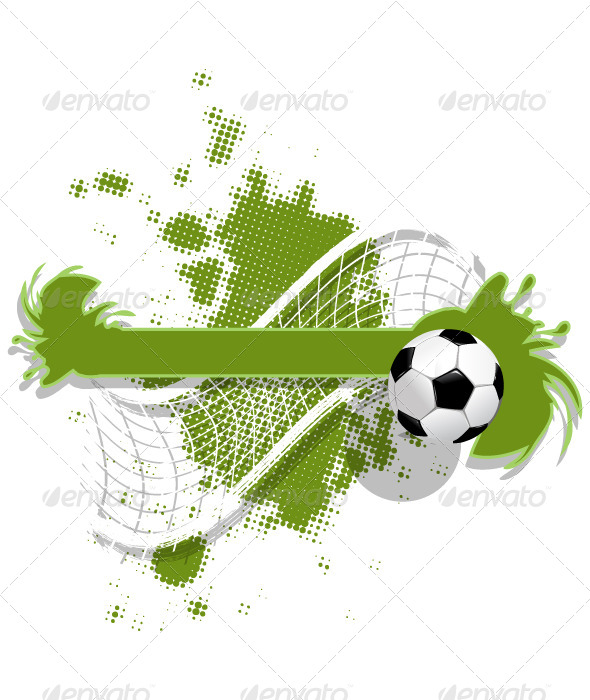 GraphicRiver Soccer Background 5039710