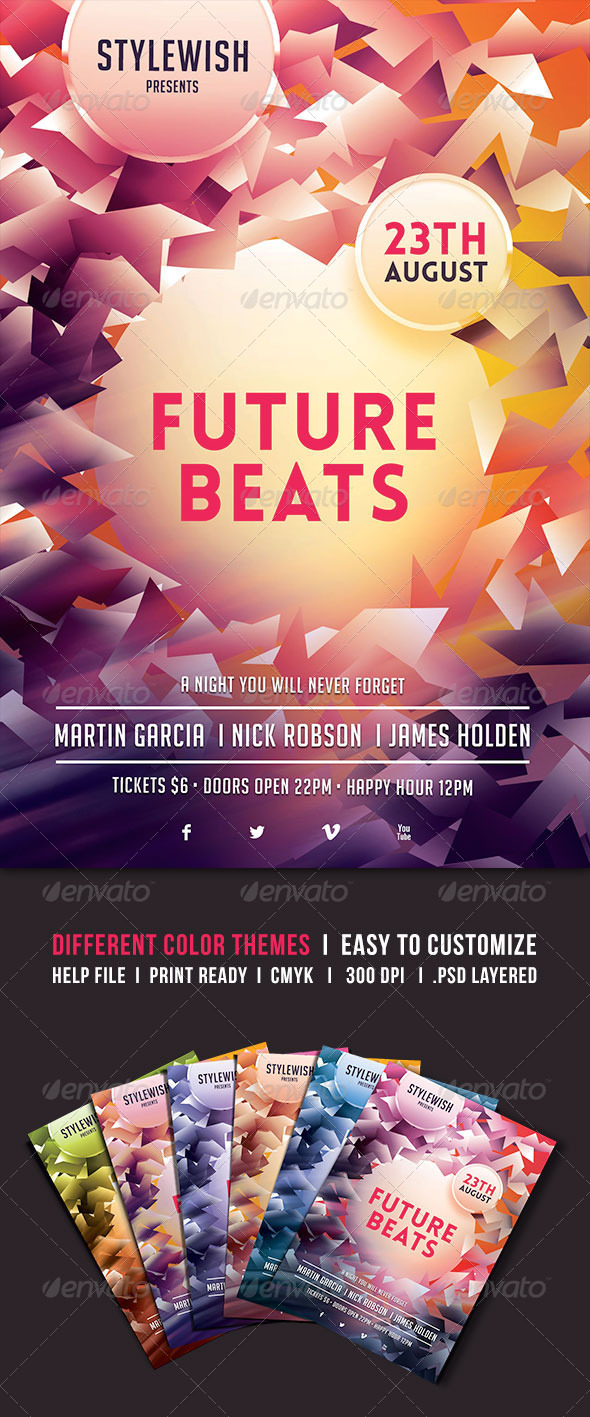 GraphicRiver Future Beats 4980828