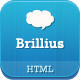 Link toBrillius - responsive one page html template